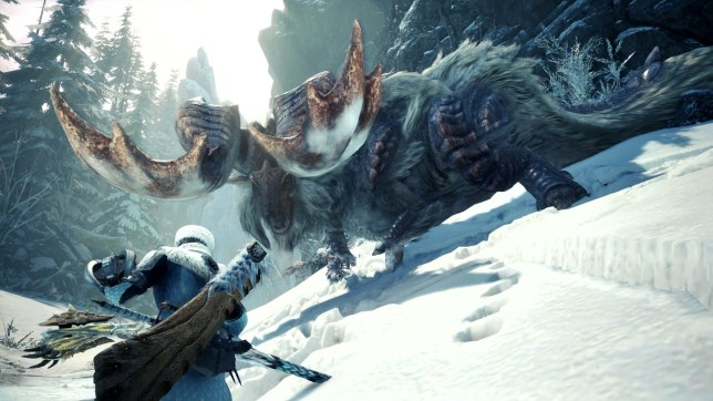 Monster Hunter: World Iceborne - Banbaro is not to be trifled with