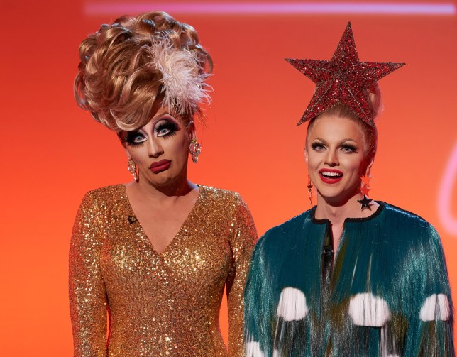 Bianca Del Rio and Courtney Act