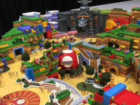 Leaked Super Nintendo World theme park models look amazing