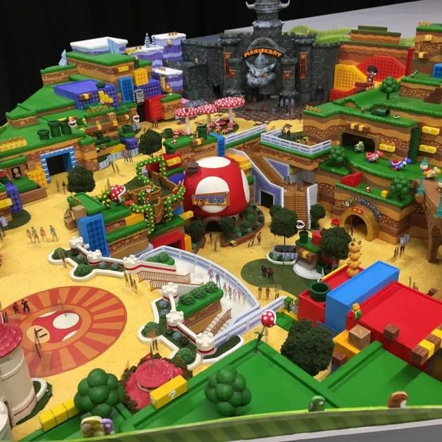 Super Nintendo World looks... super