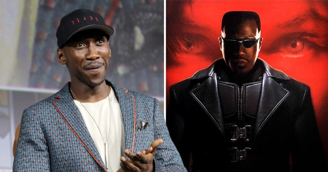 Blade's Wesley Snipes and Mahershala Ali
