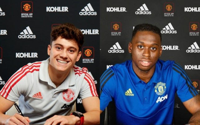 Daniel James and Aaron Wan-Bissaka are Manchester United's latest arrivals