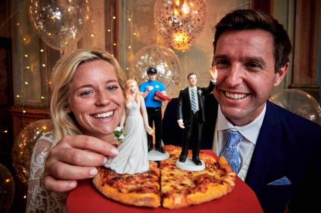 Domino's might cater your entire wedding for free this