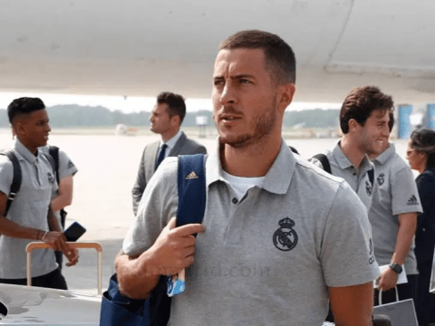 Once a blue, always a blue: Eden Hazard proves he still loves Chelsea on Real Madrid's pre-season tour