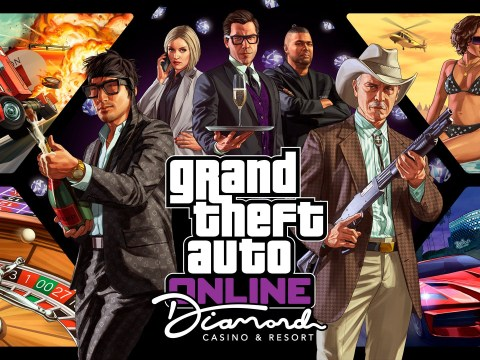 What time will the GTA V Online Casino DLC be released?