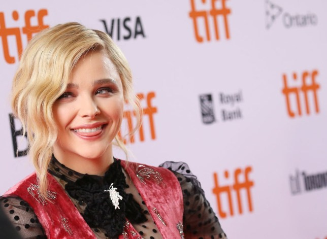 "TORONTO, ON - SEPTEMBER 06:  Chloe Grace Moretz arrives to the premiere of ""Greta"" during the 2018 Toronto International Film Festival held on September 6, 2018 in Toronto, Canada.  (Photo by Michael Tran/FilmMagic)"
