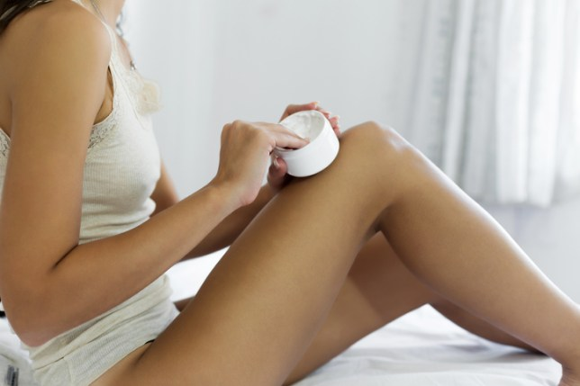 How to get rid of dry, flaky skin on your legs