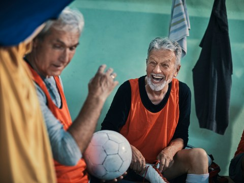 This inspiring walking football team refuse to act their age