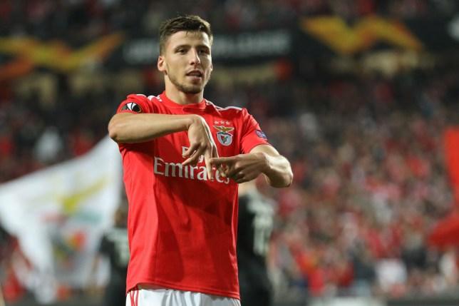 Benfica centre-back Ruben Dias is back on Arsenal's radar
