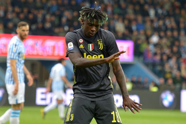 Moise Kean is set to join Everton
