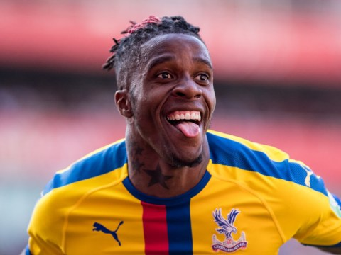 Wilfried Zaha posts cryptic tweet after Arsenal's £40m transfer bid is rejected