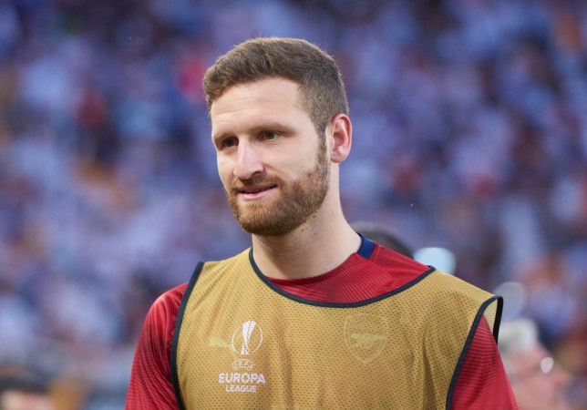 Shkodran Mustafi could leave Arsenal this summer