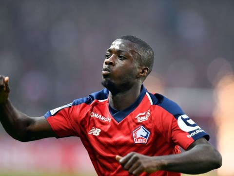 Arsenal pencil in Nicolas Pepe debut as £72m record signing jets in for medical