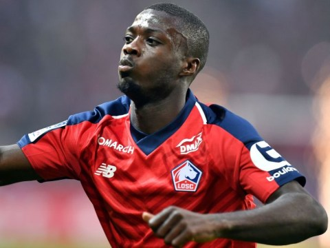 Unai Emery insists Arsenal are just 'following' Nicolas Pepe amid intense transfer speculation