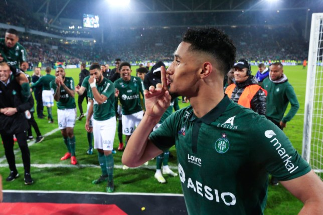 William Saliba is poised to sign for Arsenal despite late interest from Tottenham