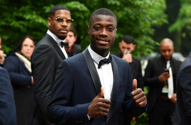 Liverpool have held negotiations to sign Lille's Nicolas Pepe