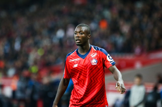 Lille president says Nicolas Pepe transfer is 'almost done' amid Manchester United and Liverpool links