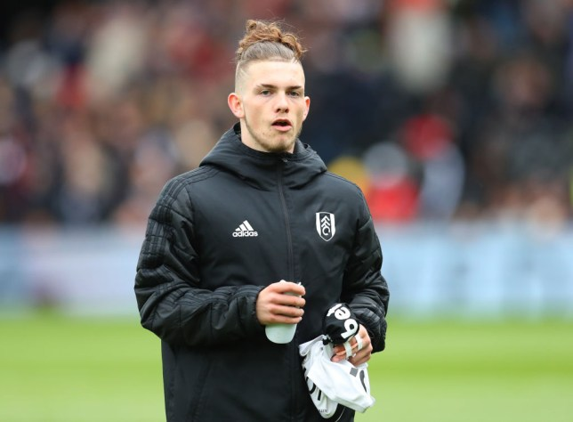 Harvey Elliott made his Fulham debut in May