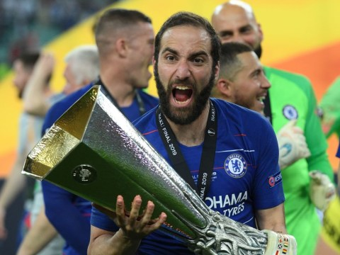 West Ham want Chelsea flop Gonzalo Higuain on loan from Juventus