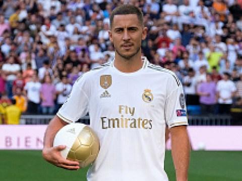 Eden Hazard requests to wear David Beckham's old number 23 shirt at Real Madrid