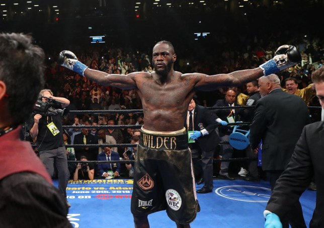 Deontay Wilder has opened fire on Dillian Whyte