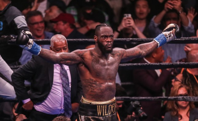Deontay Wilder teases fight with Andy Ruiz leaving Tyson Fury and Anthony Joshua in the cold