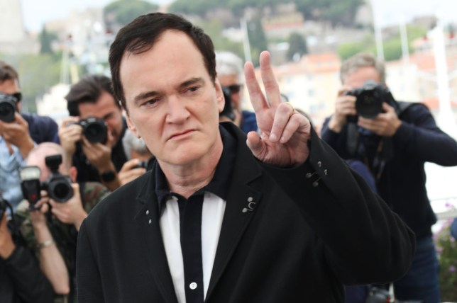 Quentin Tarantino at Once Upon a Time In Hollywood premiere at Cannes Film Festival 2019
