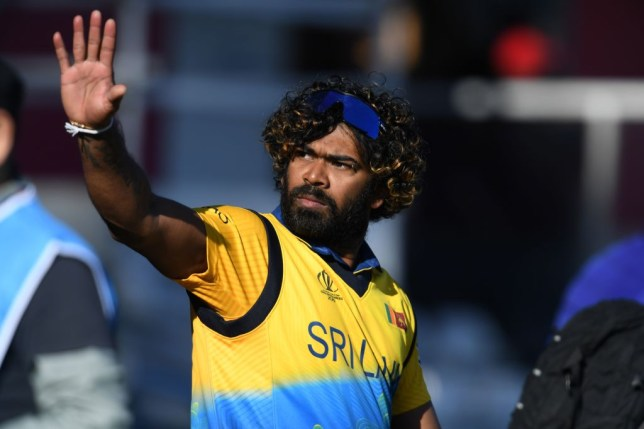 Sri Lanka legend Lasith Malinga in action at the Cricket World Cup