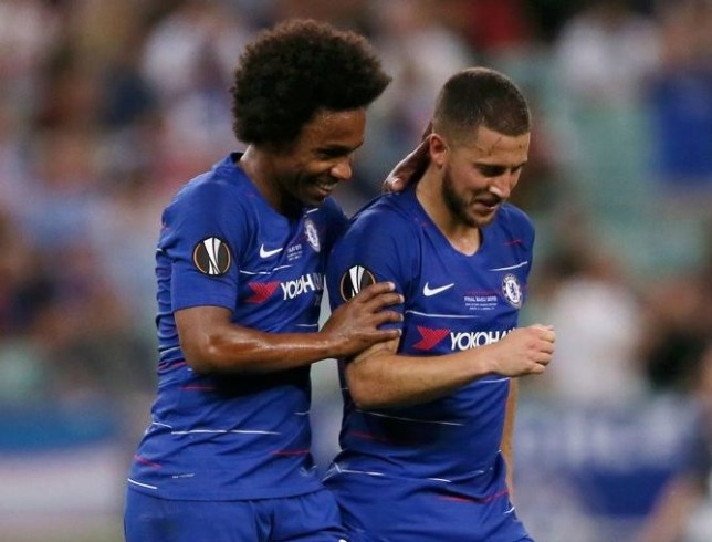 new style 743ed 57c7a Chelsea news: Willian says he's been offered Eden Hazard's ...