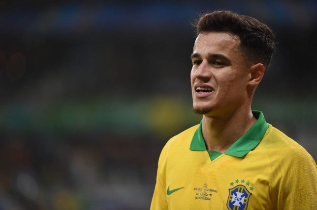 Philippe Coutinho is open to an exit from Barcelona