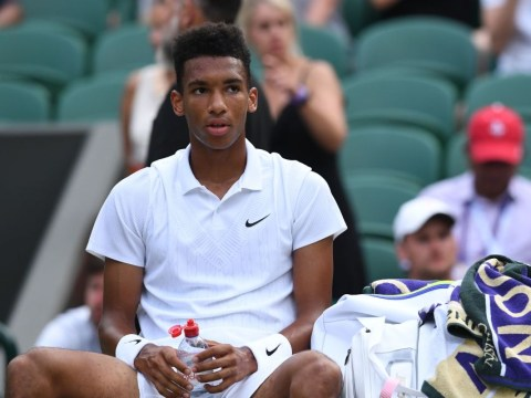 Felix Auger-Aliassime reacts to 'embarrassing' Wimbledon exit