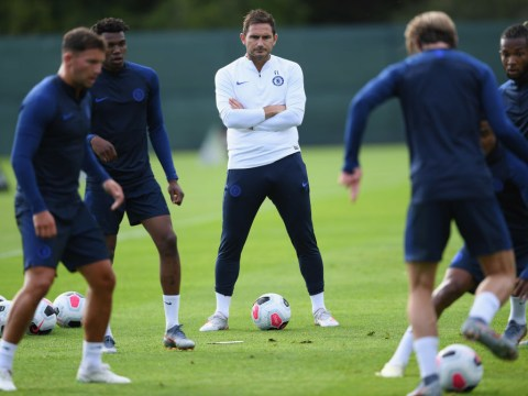 Frank Lampard tells Chelsea squad he wants to play with 'high intensity' to 'dominate' opponents