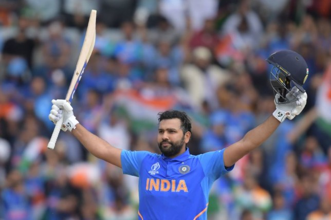 Rohit Sharma scored his third consecutive century to put India on course for victory over Sri Lanka