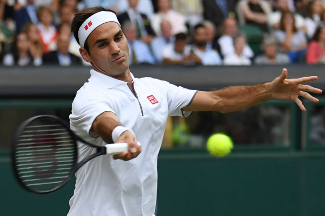 Roger Federer one match away from Rafael Nadal clash as they join Novak Djokovic in Wimbledon quarter-finals