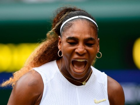 Serena Williams survives Wimbledon scare to move one step closer to history