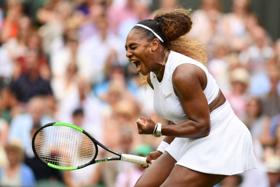 Serena Williams is playing in the women's final