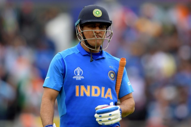 MS Dhoni was widely criticised after India's Cricket World Cup exit