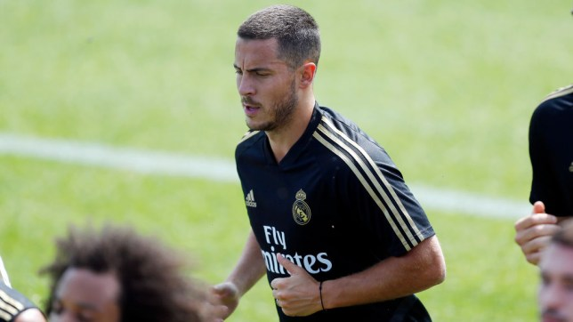 Eden Hazard is impressing in Real Madrid's training sessions