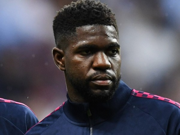 Manchester United have held talks with Barcelona for Samuel Umtiti