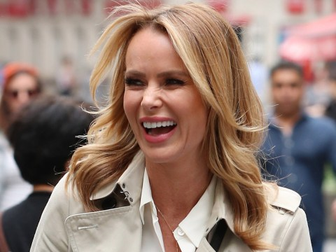 Amanda Holden admits she asked doctors to wear stilettos when giving birth