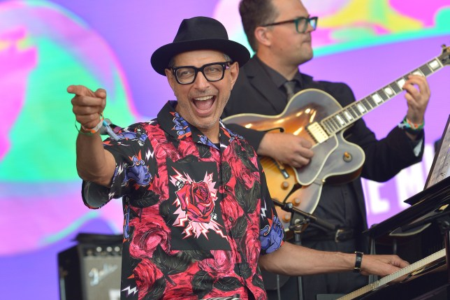 Jeff Goldblum reveals details of second album and it'll feature Peaky Blinders composer Anna Calvi