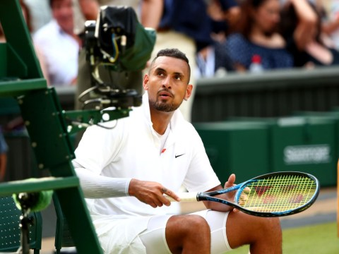 'You're no-one, you're a disgrace' – What Nick Kyrgios told the umpire in furious exchange during Rafael Nadal clash