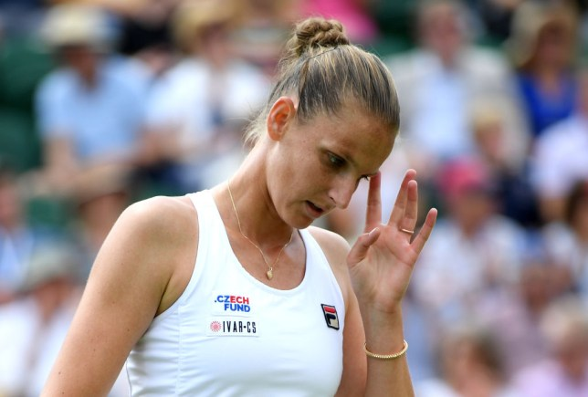 Karolina Pliskova reacts to shock Wimbledon exit to compatriot Karolina Muchova