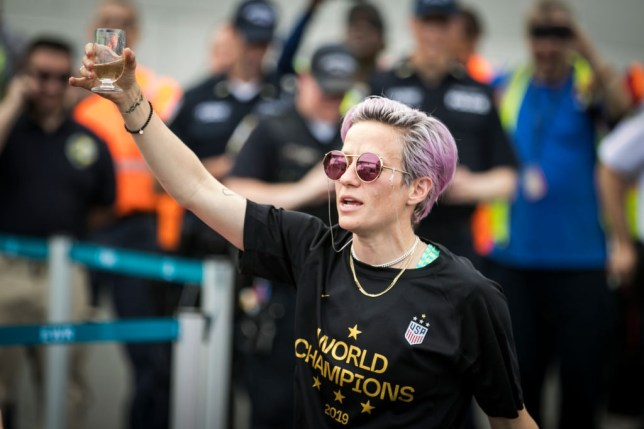 Megan Rapinoe enjoyed a record-breaking World Cup