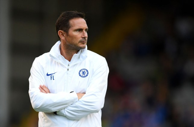 Frank Lampard took charge of his first Chelsea match against Bohemians
