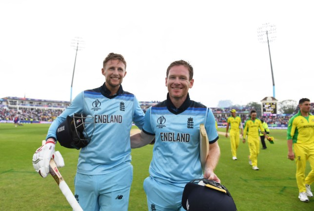 England thrashed Australia to reach the Cricket World Cup final