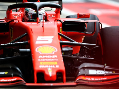 Formula One Silverstone Grand Prix start time, starting grid and weather