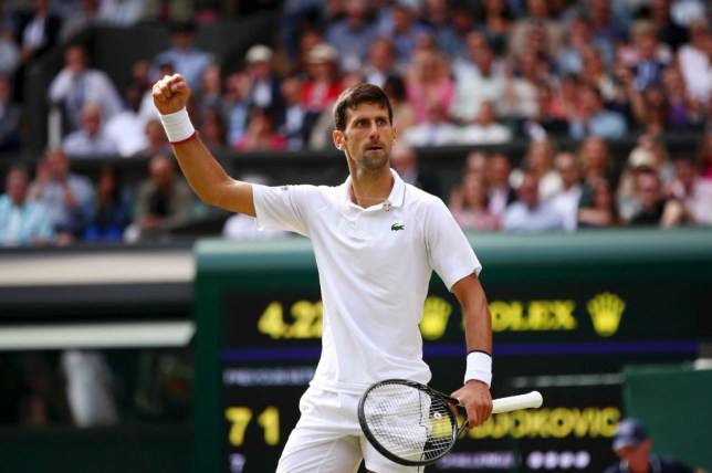 Novak Djokovic downs Roger Federer in record-breaking epic to win fifth Wimbledon