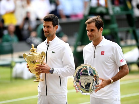 Novak Djokovic inspired by Roger Federer after Wimbledon epic