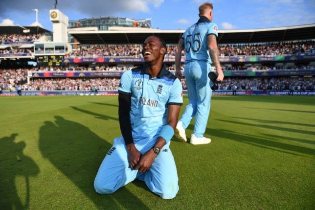 Jofra Archer helped England make history